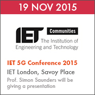 IET 5G Conference 2015