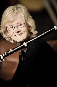 Kate Clark, historical flute