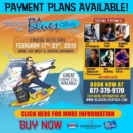 Keeping The Blues Alive At Sea. Payment Plans Available. Starring Joe Bonamassa, John Hiatt, Robben Ford, Robert Randolph & The Family Band, Ana Popovic, Joanne Shaw Taylor, and more! Book now.