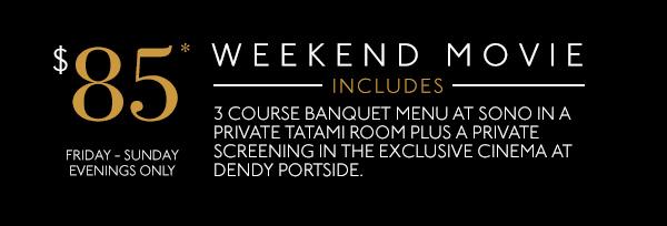 Weekend Movie Deal