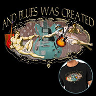 Tribut Apparel - Let There Be Blues tee