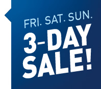 3-Day Sale Banner